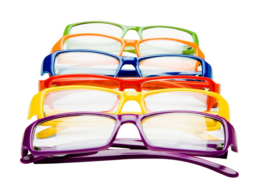 Finding your eyeglass frame color